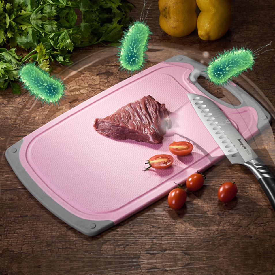 银离子抗菌剂在菜板上的应用